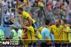 خلاصه بازی سوئد ۱ - سوئیس ۰