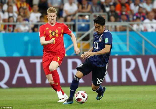 دیدار تیم های ملی فوتبال بلژیک و ژاپن