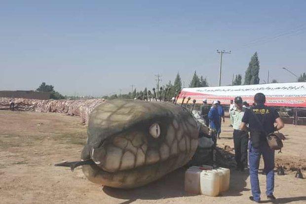 اتلاف 40 طنا من المخدرات في محافظة اصفهان