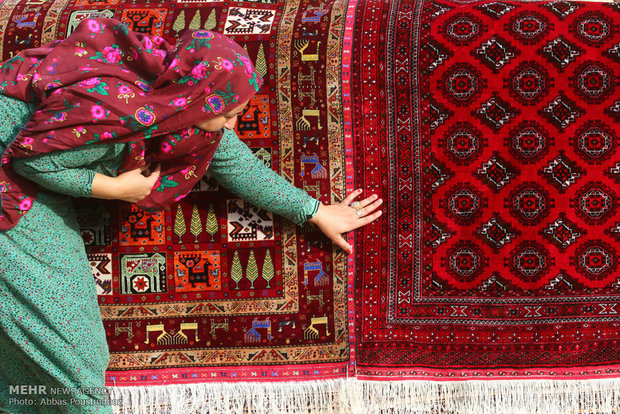 'Iran has upper hand in global hand-woven rug market'