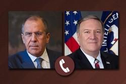 گفتگوی وزرای خارجه آمریکا و روسیه پیرامون بحران سوریه وشیوع کرونا