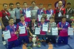 خوزستان قهرمان کشتی فرنگی دانش آموزان نونهال کشور شد