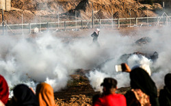 زنان فلسطینی در راهپیمایی بازگشت
