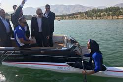 سلطانی فر و صالحی امیری از اردوی تیم ملی قایقرانی بازدید کردند
