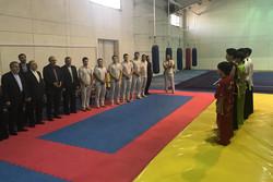 بازدید وزیر ورزش و رئیس کمیته المپیک از اردوی ووشو