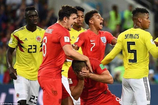 دیدار تیم های ملی فوتبال کلمبیا و انگلیس
