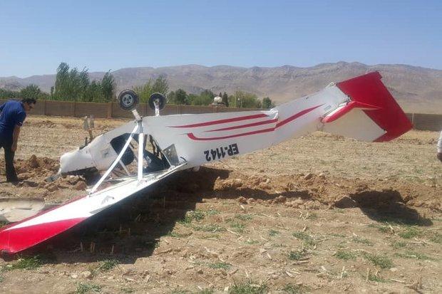 سقو یک هواپیمای کوچک در دوبی
