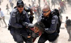یورش صهیونیست ها به روستای فلسطینی