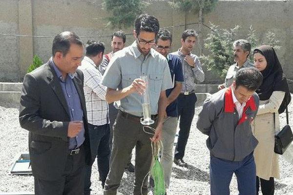 افتتاح تصفیه خانه فاضلاب بهداشتی واحد صنعتی در شهرستان تاکستان