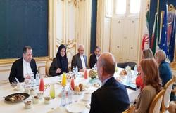 Zarif, Viyana'da Mogherini ile görüştü