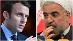Rouhani - Macron