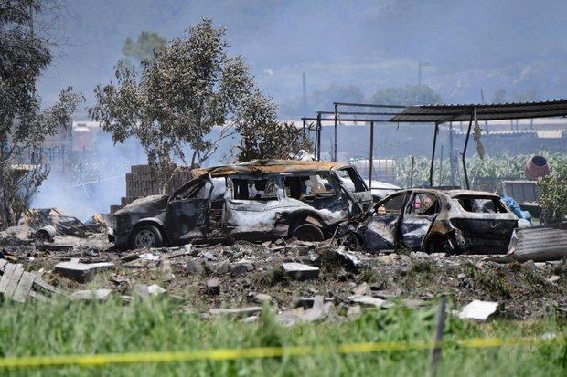 المكسيك.. 24 قتيلا بانفجارات داخل مستودعات للألعاب النارية