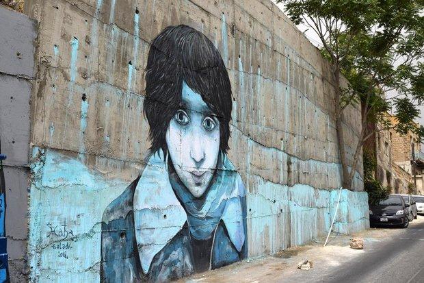 نقاشی های دیواری در امان