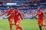 دیدار تیم های ملی فوتبال سوئد و انگلیس