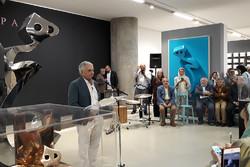 «هیچ» با تکرار معنا مییابد/ نمایش آثار تناولی در شهر تهران