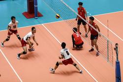 تیم والیبال نوجوانان ایران برابر بلغارستان به برتری رسید