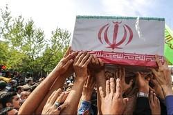 پیکر مطهر شهید دوستزاده در بجنورد تشییع و به خاک سپرده شد