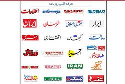 چرا نرخ آگهیهای دولتی روزنامهها بعد از دو سال کماکان ثابت است؟