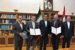 تفاهم نامه همکاری ایران و اتریش