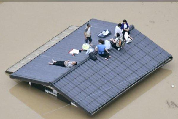 العواصف المطرية في اليابان تودي بمصرع 8 أشخاص وفقدان 39 آخرين