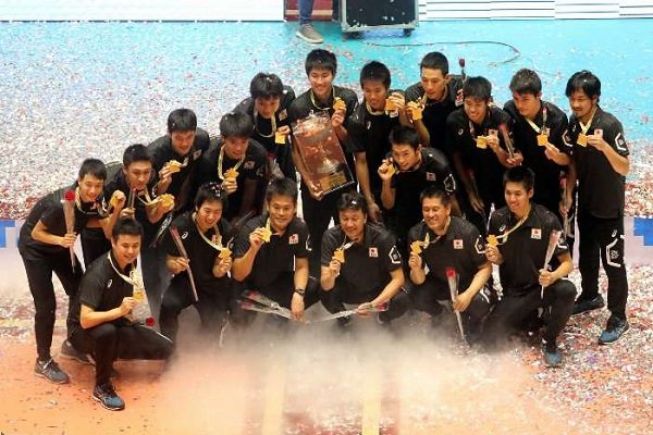 VIDEO: Cup ceremony of Asian U18 Volleyball C'ships