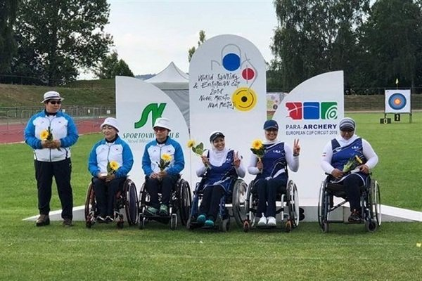 Iranian female para-archers snatched gold at Czech C'ships