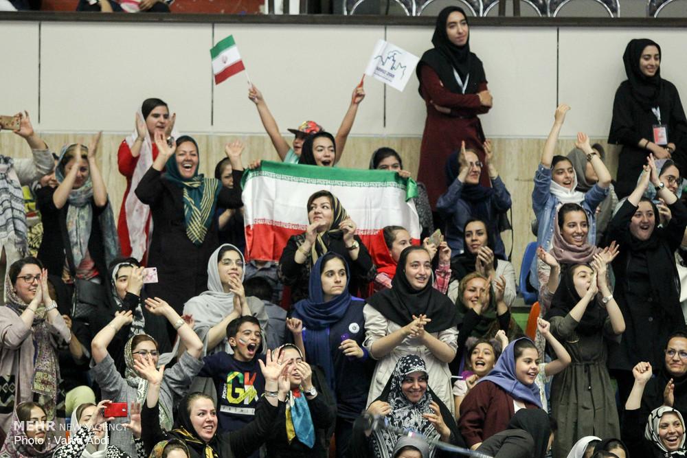 Iran vs Chinese Taipei at Asian U18 Volleyball C'ships
