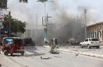 موغادیشو میں بم دھماکے میں 24 افراد ہلاک اور زخمی