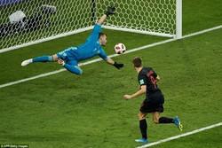 دیدار تیم های ملی فوتبال کرواسی و روسیه
