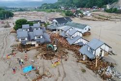 Flood hitting Japan
