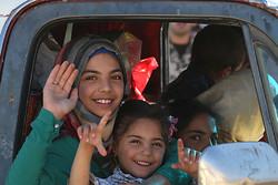 Fotoğraf: Suriyeli sığınmacılar evlerine geri dönüyor