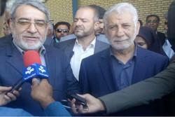 وزیر کشور از محل اجرای پروژه ۴۶ هزار هکتاری دشت سیستان بازدید کرد