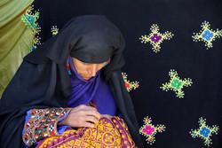 خانه هنرمندان ایران میزبان ۱۵۰ دختر سوزن دوز بلوچستان شد
