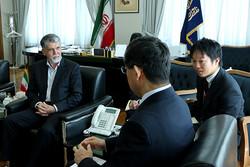 دیدار وزیر فرهنگ و ارشاد اسلامی و سفیر ژاپن در تهران