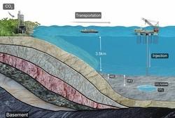تزریق دی اکسید کربن به کف دریا برای اجتناب از انتشار آن