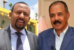 سران کشورهای اریتره و اتیوپی- أسیاس أفورقی و أبی احمد
