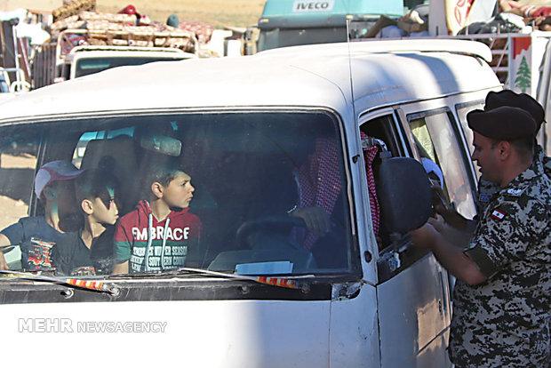 بازگشت گروه دیگری از آوارگان سوری از لبنان