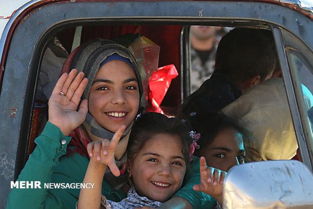 لبنان: وصول 25 حافلة إلى نقطة المصنع الحدودية لنقل دفعة من النازحين السوريين