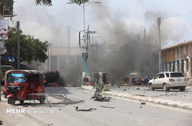 انفجار سيارة في مقديشو بعد إطلاق الشرطة النار عليها بالقرب من القصر الرئاسي