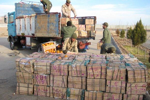 ۱.۸ میلیارد ریال کالای قاچاق در مازندران کشف شد,