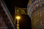 حرم عبدالعظیم حسنی در شب شهادت امام صادق (ع)