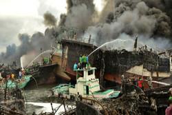 آتش سوزی در بالی اندونزی