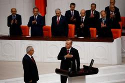 ادای سوگند اردوغان