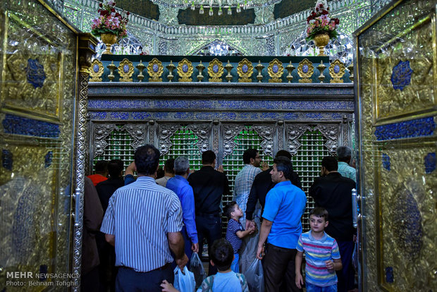 Martyrdom of Imam Jafar Sadeq commemorated in Shah-Abdol-Azim shrine