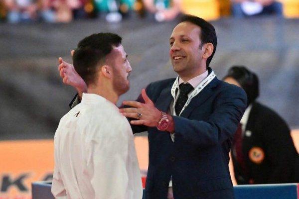 شهرام هروی: تیم ملی کاراته همچنان تشنه موفقیت است