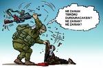 Karikatür: İsrail'in bitmek bilmeyen yüzsüzlüğü