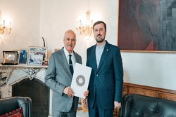Iranian envoy meets with OFID chief in Vienna