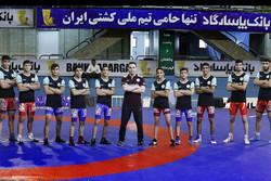 فرشاد علیزاده - کشتی فرنگی نوجوانان