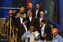 جهانغيري يتفقد المشاريع الصناعية في اصفهان
