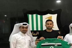اميد إبراهيمي لاعب استقلال ينضم للنادي الأهلي القطري